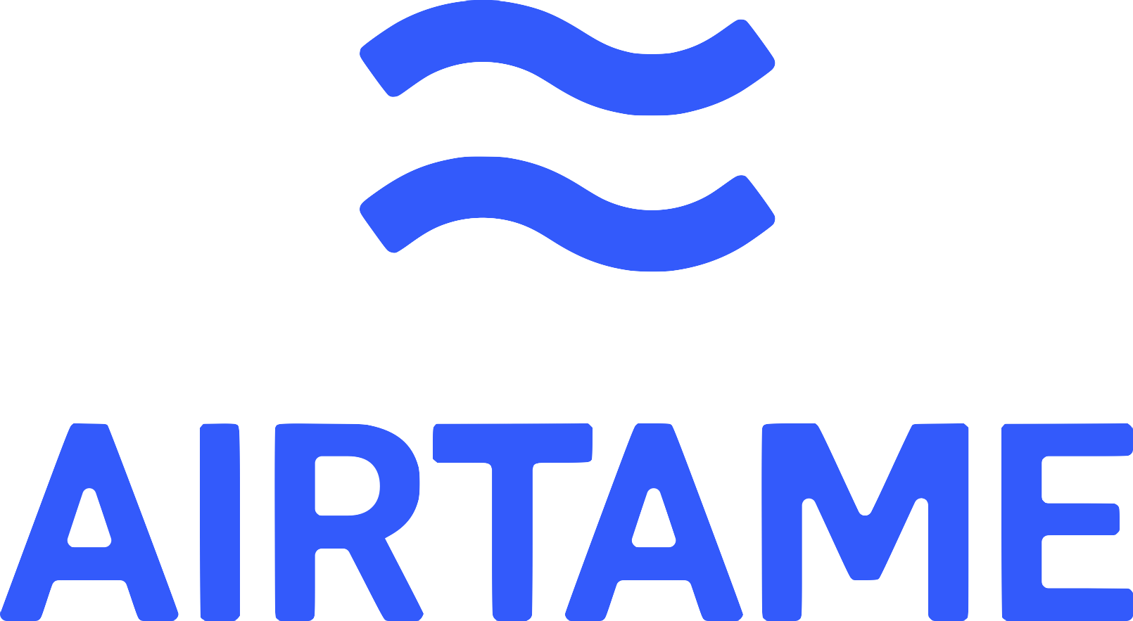 AirTame logo and link