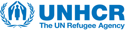 UNHCR logo and link to article