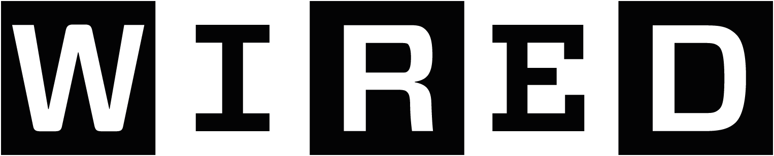 Wired logo and link to Wired article