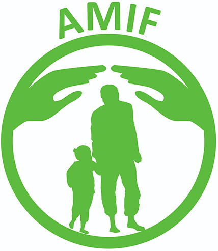 AMIF logo and link