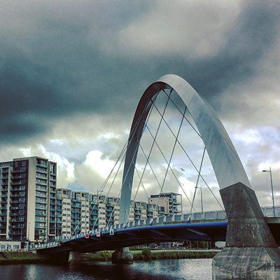 Image of Glasgow and link to info about CYF Scotland